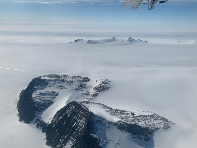 View from the plane